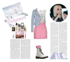 """""""Daydreaming"""" by silly-stegosaurus ❤ liked on Polyvore featuring Wildfox, IRO, Dr. Martens, Hourglass Cosmetics, NARS Cosmetics, MAC Cosmetics, Maybelline, Too Faced Cosmetics and NYX"""