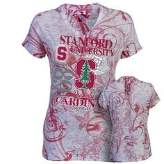 Russell Stanford Cardinal Burnout Tee