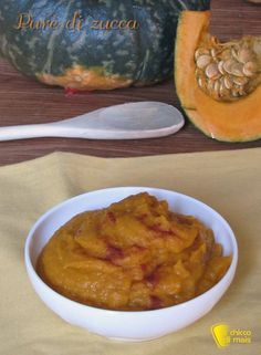 PURè DI ZUCCA - MASHED PUMPKIN #purè #purea #zucca #mantovana #paprika #ricetta #ricette #facili #easy #recipe #pumpkin #mashed #ilchiccodimais http://blog.giallozafferano.it/ilchiccodimais/pure-di-zucca/