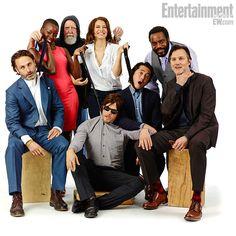 The Walking Cast!