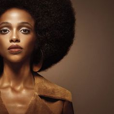 Aya Jones, shot by Fabien Baron for the NARS Audacious ad campaign.