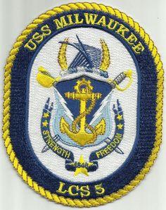 LCS-5 USS MILWAUKEE PATCH