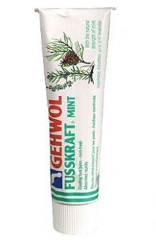 Foot Vigour Mint by Gehwol by Gehwol. Save 34 Off!. $18.00. Feet are cooled and revitalized with a combination of lavender, rosemary and mountain pine, with the addition of menthol.. Foot odor is controlled and the itching of athlete's foot eliminated by the easily absorbed cream, leaving skin nourished and refreshed.. Gewohl Fusskraft Mint wakes up tired, aching feet with a naturally based foot balm, formulated from herbs and medicinal plants.. The skin of the feet returns to a healthy and…