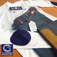 This super stylish Saturday is brought to you by the trendsetters at @chagrinsaddlery!  @sporthorselifestyle Hudson Show Shirt, 'On Deck' Derby Belt and gorgeous two-tone Tailored Sportsman breeches complete this stunning outfit. La-la-love!  #ShopHuntClub #Pony #Hunter #Horse #EquestrianStyle #Love #Original #Jumper #TheBest #Equine #EquestrianFashion #Rider #Style #Gimmie #DerbyBelt #Preppy #Fashion #DressUp #RideHappy #WEF #Style #HuntClubStyle #HC