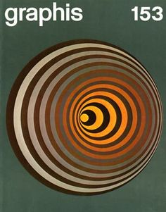 Graphis magazine cover, via Silver Lining.