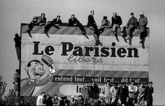 Sports |¤ Robert Doisneau | Atelier Robert Doisneau | Galeries virtuelles des photographies de Doisneau