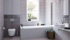 Galeria łazienek - zdjęcia, gotowe projekty - Domni.pl Alcove, Bathtub, Bathroom, Standing Bath, Washroom, Bathtubs, Bath Tube, Full Bath, Bath