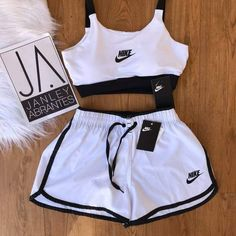 Cute Nike Outfits, Cute Lazy Outfits, Swag Outfits For Girls, Girls Fashion Clothes, Sporty Outfits, Athletic Outfits, Teen Fashion Outfits, Retro Outfits, Stylish Outfits