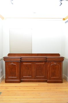 A Superb Victorian Mahogany Sideboard. Excellent condition. C1870.