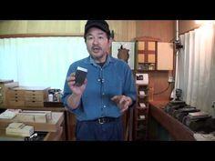 鉋刃を研ぐ(Kanna Project Option) - YouTube