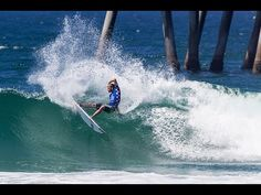 Vans US Open of Surfing 2016 - Day 4 Highlights - Men's QS Round 2 and W...