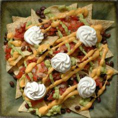 gameday snack, food recip, kid snack, vegan snacks, nachos