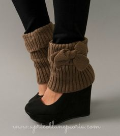 Shoe/Boot Toppers. So cute