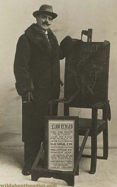 WILD ABOUT HARRY: Houdini's electric chair - the shocking truth