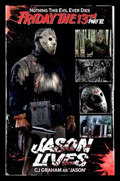 My most frequently watched Friday the 13th film as a teen.