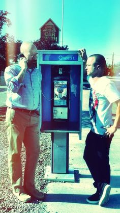 Twitter / aaronpaul_8: Heisenberg takes a call