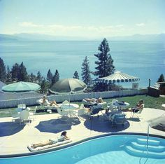 'Relaxing At Lake Tahoe' (Archival Pigment Print) 1