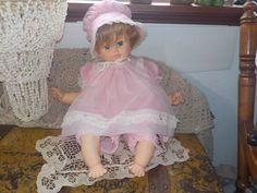 Horsman Baby Crier Doll Big Vintage Horsman Baby Crier Doll