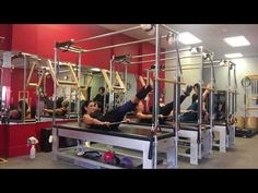 Pilates Arm Springs Variations on the Pilates Tower - YouTube