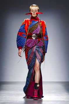 Manish Arora Ready to Wear Fall Winter Paris Fashions Week 2015
