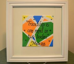 A personal favorite from my Etsy shop https://www.etsy.com/listing/465653075/mencius-framed-quote-abstract-design