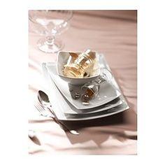Ikea plates for plating dessert - MYNDIG Tallerken - 28x21 cm - IKEA