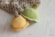 Crochet scalloped squash by MiriTreasures on Etsy Polymer Clay Creations, Squash, Crochet Hats, Trending Outfits, Unique Jewelry, Handmade Gifts, Etsy, Vintage, Knitting Hats
