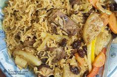 One-pot Rice & Goat Meat (Bariis Isku-karis)