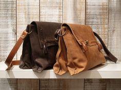Bolso de cuero taupe bolsa de cuero suave taupe bolsa por Percibal