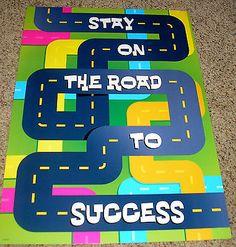 Teacher Resource Argus Motivational Bulletin Board Chart Success 078628673852 | eBay