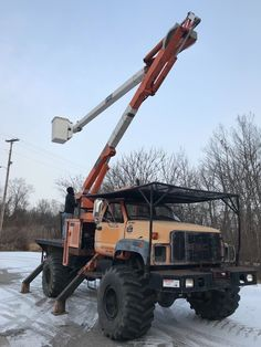 2000 GMC C7500 HI Ranger 60' Over Center Bucket Boom Truck Forestry Flotation | eBay Tree Care, Lineman, Cool Trucks, Military Vehicles, Ranger, Monster Trucks, Bucket, Construction, Life