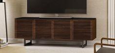 Corridor 8179 Home Theater in Chocolate Walnut #hometheater #furniture #tvcabinet