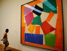 Henry Matisse The Snail. My absolute favourite piece of art.