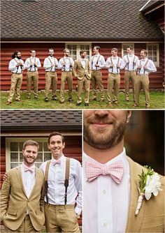 bow tie groomsmen look @weddingchicks