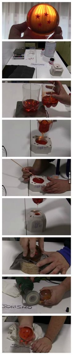 This guy created the real DRAGON BALLS. :Q