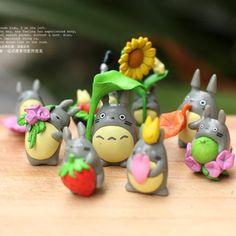 Купить оптом / искусственных мультфильм тоторо куклы игрушки волшебный сад миниатюры гнома мох