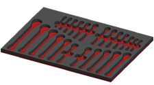 Foam Tool Organizers for Select Tools