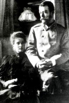 Tsar Nicholas II and Tsarina Alexandra at the... : The Last Tsar