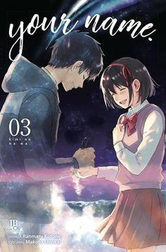 your name. nº (Manga: Biblioteca Makoto Shinkai) Otaku Anime, Anime Art, Kimi No Na Wa Wallpaper, Name Drawings, Your Name Anime, Neko, Dramas, Couple Wallpaper, Your Name Wallpaper