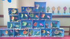 Fish at school