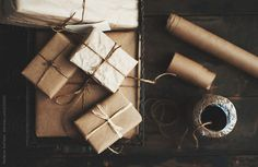 Neutral gift wrap by meldefazio | Stocksy United
