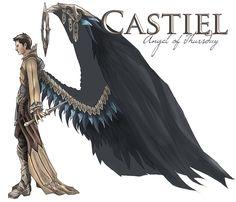 Castiel by L-a-m-o-N.deviantart.com on @deviantART