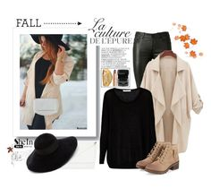 """#fall"" by dzeni-dzen ❤ liked on Polyvore featuring By Zoé, Yves Saint Laurent, Century Seven, Skinnydip, Eugenia Kim, Rolex, Lancôme, Sheinside and shein"