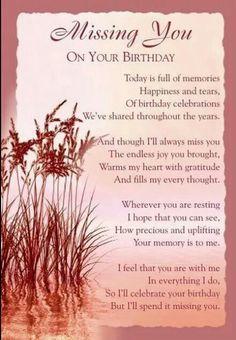 Missn U on Ur Birthday