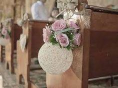 Resultado de imagen para decoracion de templo para boda con esferas