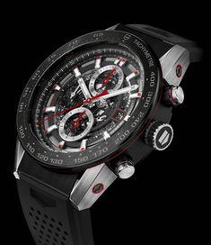 La Cote des Montres : La montre TAG Heuer Carrera Heuer 01 - La colonne vertébrale de la nouvelle collection