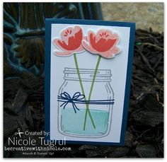 Jar of Love card becreativewithnicole.com