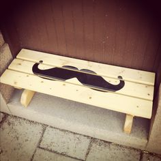 Sit on it...my mustash (sic)....lol