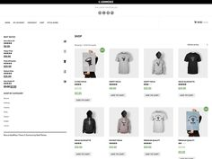 "E-Commerce is one of a Simple, Clean and Responsive eCommerce WordPress Theme by Catch Themes. It is outlined particularly to work with a famous eCommerce module ""WooCommerce"". It depends on. Wordpress Store, Ecommerce Store, Best Free Wordpress Themes, Modern Website, Wordpress Template, Style Guides, Responsive Web, Top Free, Simple"