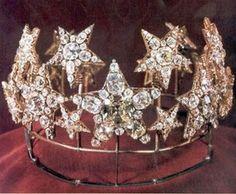 Queen Maria Pia Star Tiara